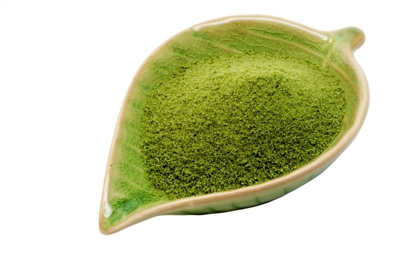 مكونات شاي الماتشا