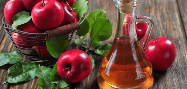 مكونات خل التفاح